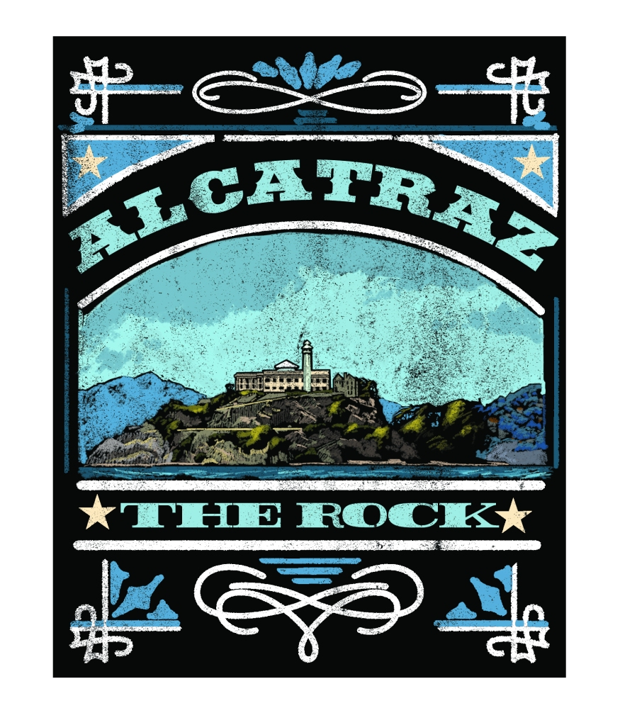 Alcatraz Chalkboard Design