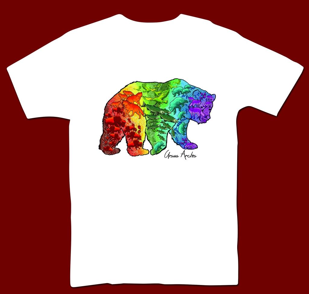 Bear T-Shirt Design