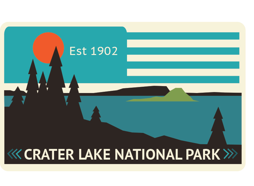 crater lake rectangle