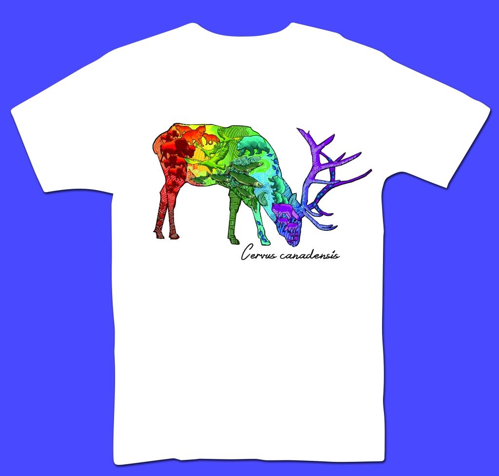 Elk T-Shirt Design