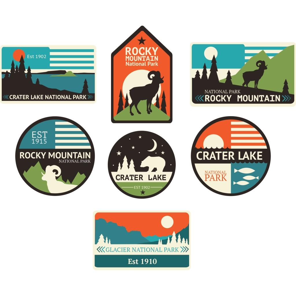 Mountain Parks Logos