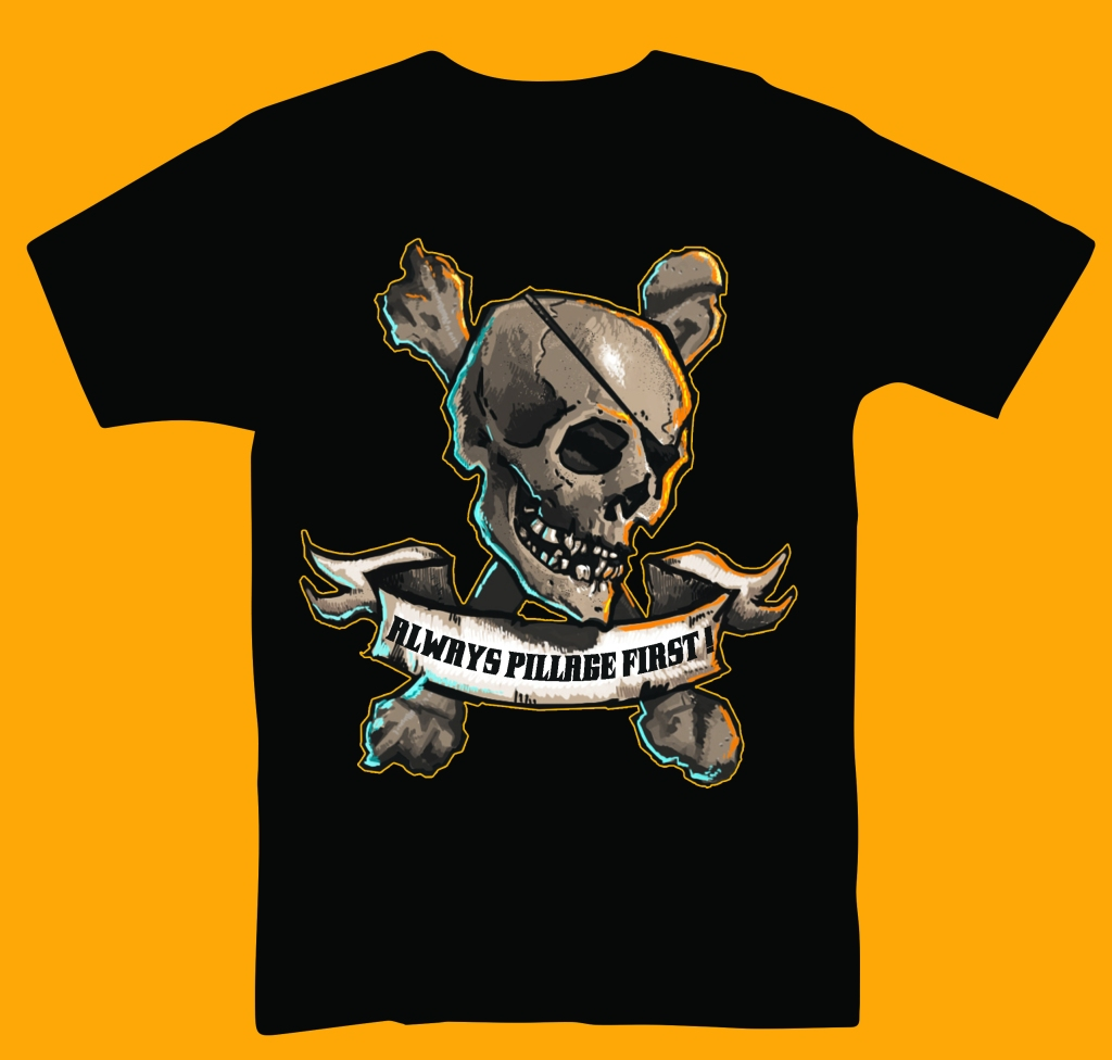 Pillage Tee T-Shirt Design
