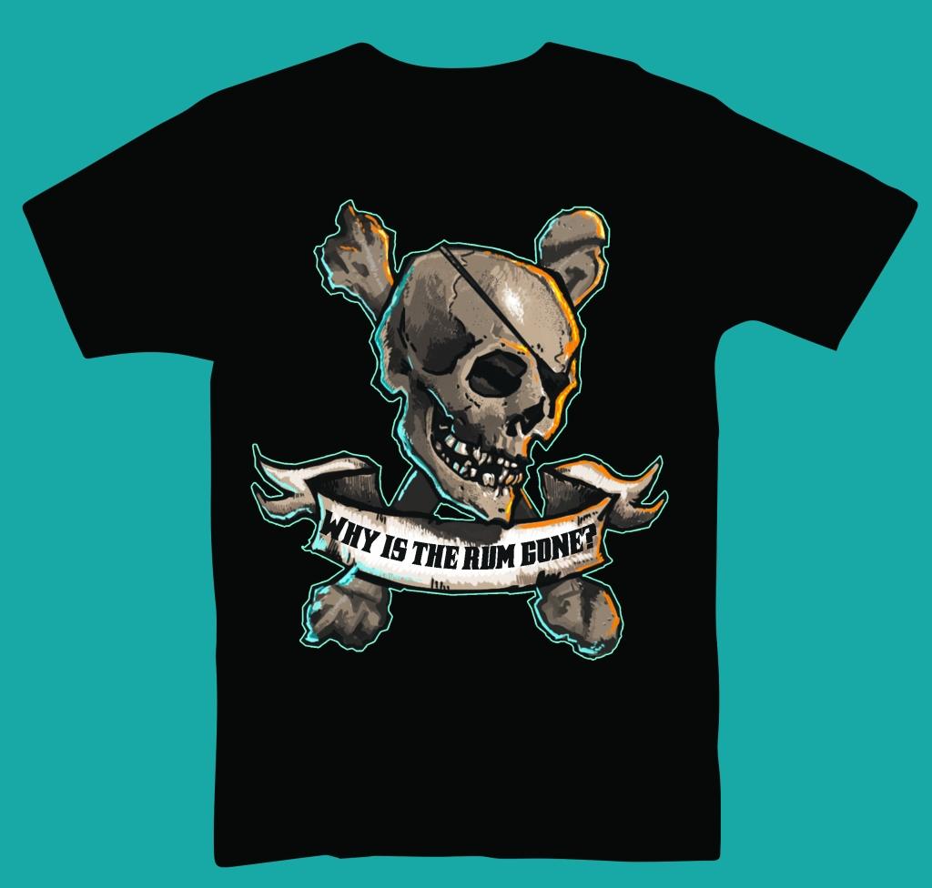 Rum Tee T-Shirt Design